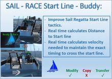 BE* Sail Race Start Line buddy_v1.1