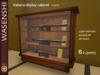 Katana display cabinet main