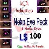 Neko Eyes 8 Pack
