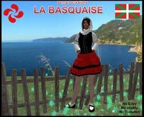 Basque tenue Girl Mesh