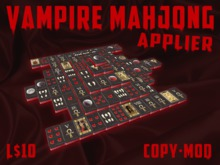 Mahjong Solitaire Applier - Vampire Tile Set