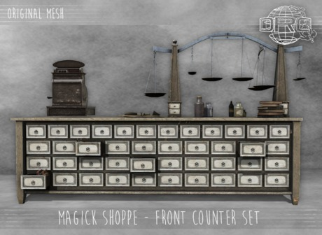-DRD- Magick Shoppe - Front Counter Set