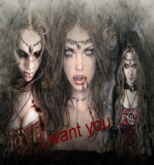 Vampire Card I Want You