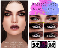 .Viki. Ethereal Eyes - Grey Pack