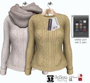 GizzA - Vixie Sweater [Cream - Lemon]