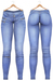 Blueberry - Gracie Denim - Maitreya, Belleza (All), Slink Physique Hourglass - ( Mesh ) - Blue