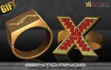 AV-Vista 10y Commemorative Bento Rings