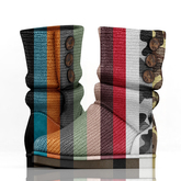 fame femme: Knitted Uggs  - Pack