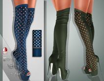 !Soul Mesh - Peep Boots - Tint 1