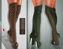 !Soul Mesh - Peep Boots - Tint 3