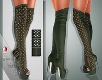 !Soul Mesh - Peep Boots - Tint 7