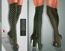 !Soul Mesh - Peep Boots - Tint 8