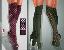 !Soul Mesh - Peep Boots - Tint 9