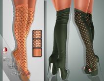 !Soul Mesh - Peep Boots - Tint 10