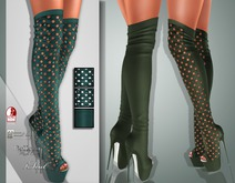 !Soul Mesh - Peep Boots - Tint 14