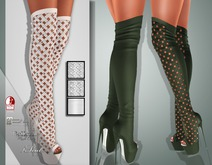 !Soul Mesh - Peep Boots - Tint 15
