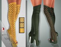 !Soul Mesh - Peep Boots - Tint 16