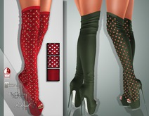 !Soul Mesh - Peep Boots - Tint 13
