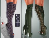 !Soul Mesh - Peep Boots - Tint 17