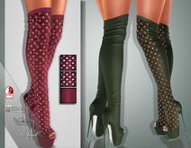 !Soul Mesh - Peep Boots - Tint 18