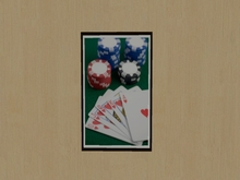 Picture - Poker Closeup Sign
