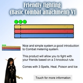 Friendly fighting (Basic Combat attachment)