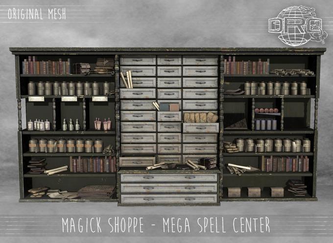 -DRD- Magick Shoppe - Mega Spell Center