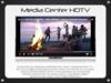 -W- Media Center HDTV