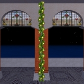 Christmas garland with lights - COPY!
