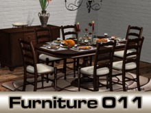 Classic dining room set Vienna - Dining table for 2, 4 or 6 - PG