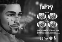 /Mr.Rennie/ facehair Jarry Black + tattoo Demo Catwa Bento Signature Omega system