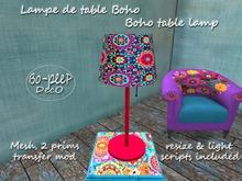 Boho table lamp/ Lamp de table Boho