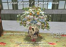 Vase fleurs / Flowers vase