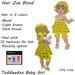 Toddleedoo Hair Zoe Blond