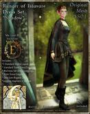 !!SMD!! Ranger of Islavare Dress Set-Shadow