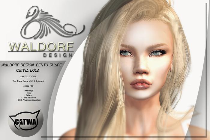 Waldorf Design. Laura Shape -Catwa LONA-