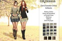 KiB Designs - Zaira Sweater-Dress DEMO