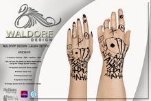Waldorf Design. Laugh Tattoo