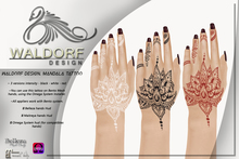 Waldorf Design. Mandala Tattoo -Vista Bento-