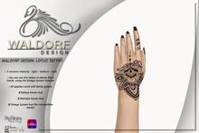Waldorf Design. Lotus Tattoo -Vista Bento-