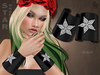 #187# Star Bracelet Black