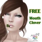 * FREE GIFT * PRISM Designs Unisex Mouth Clover Shamrock St Patricks Day by Jezzixa Cazalet PROMO SALE Men Women Kids