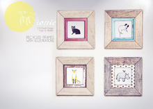 ionic : Recycled frames with illustrations {SET}