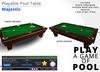 Playable Pool Table: Majestic