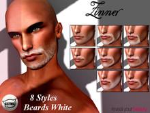 >Zinner< CATWA Beards White Applier Set