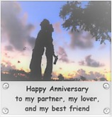 Anniversary Card with Love