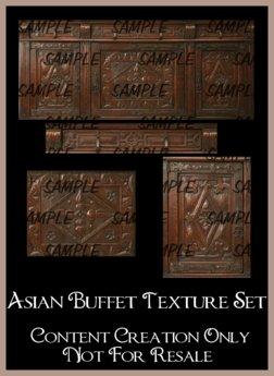 Asian Buffet Texture Set