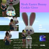 Big Easter Bunny Cookie giver Crate)