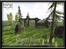 KHARGO RUINS - 2 VERSIONS INCLUDED - WITH AND WITHOUT LANDSCAPING