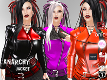 [F] Anarchy Leather Jacket with HUD